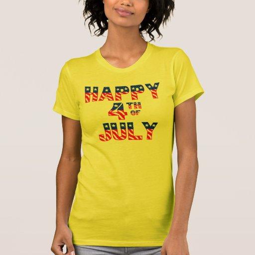 Happy 4th Of July Tee Shirt