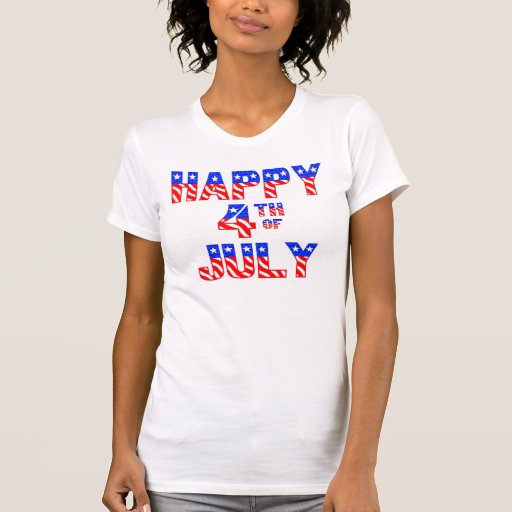Happy 4th Of July Tank Tops
