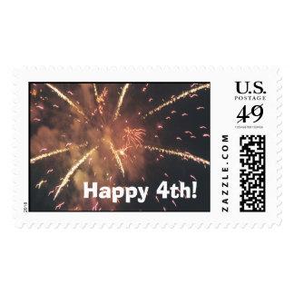 Happy 4th! postage