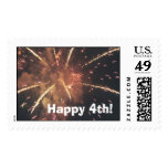Happy 4th! postage stamps