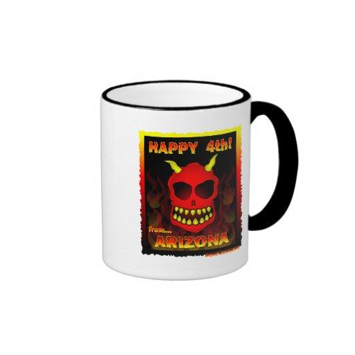 HAPPY 4th! Ringer Coffee Mug