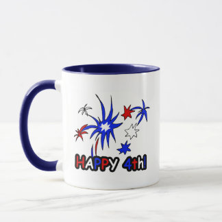 Happy 4th (Stars) Mug