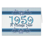 Happy 50th Birthday 1959 A Vintage Year Greeting Card
