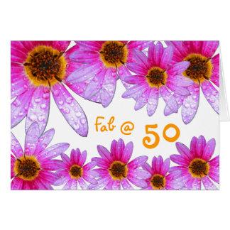 Happy 50th birthday! card