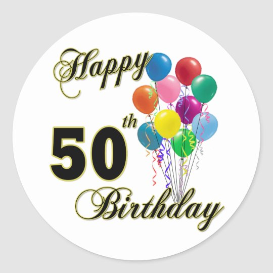 Happy 50th Birthday Gifts And Birthday Apparel Classic
