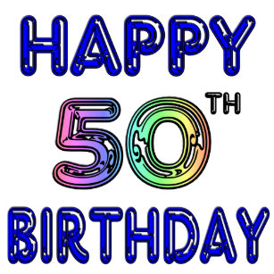 Happy 50th Birthday Gifts And Apparel Trucker Hat