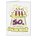 Happy 50th Birthday! Greeting Card