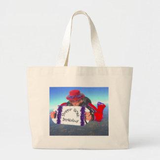 Happy 50th Birthday Large Tote Bag