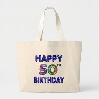 Happy 50th Birthday Tote Bag