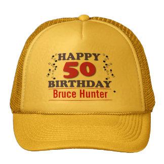 Happy 50th Birthday Trucker Hat