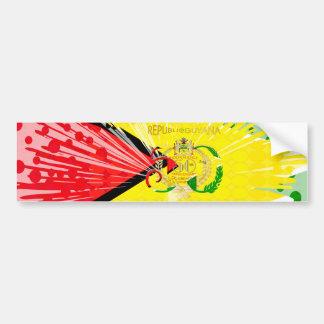 Happy 50th Independence Golden Anniversary Designe Bumper Sticker