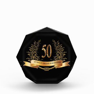 Happy 50th Wedding Anniversary Gifts Awards