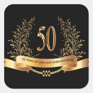 Happy 50th Wedding Anniversary Gifts Sticker