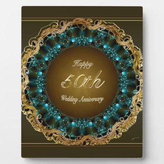Happy 50th Wedding Anniversary Multi Gifts Plaque