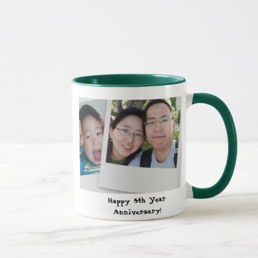 5th Year Anniversary: Happy 5th Year Anniversary! Mug