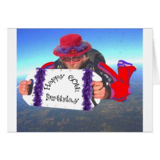 Happy 60th Birthday Card