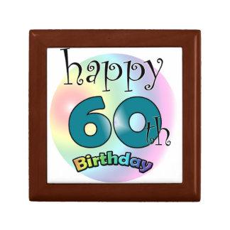 Happy 60th Birthday Gift Box