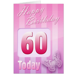 Happy 60th Birthday Grand Mother Great-Aunt Mum Card