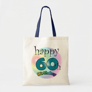 Happy 60th Birthday Tote Bag