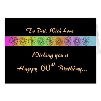 Happy 60th Customizable Birthday Card