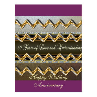 Happy 60th Wedding Anniversary Greeting Cards