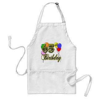 Happy 65th Birthday Merchandise Adult Apron