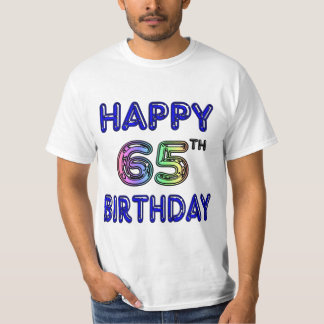 Happy 65th Birthday T-Shirts, Hoodies and Tanks