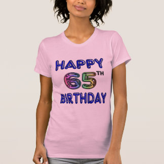 Happy 65th Birthday T-Shirts, Hoodies and Tanks