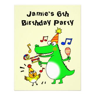Happy 6th Birthday ( I am 6 ) Custom Invite
