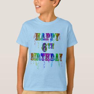 Happy 6th Birthday Shirts Hoodies And Tanks