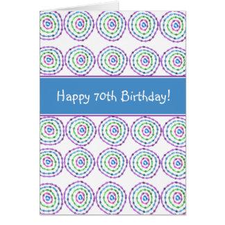 Happy 70th Birthday! Card