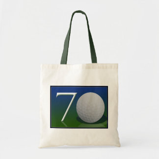 Happy 70th Birthday for golf nut Tote Bag