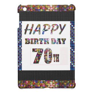 Happy 70th Birthday iPad Mini Case