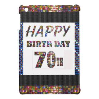 Happy 70th Birthday iPad Mini Case