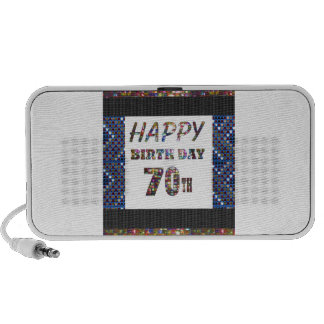 Happy 70th Birthday Mini Speaker