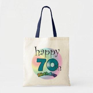 Happy 70th Birthday Tote Bag