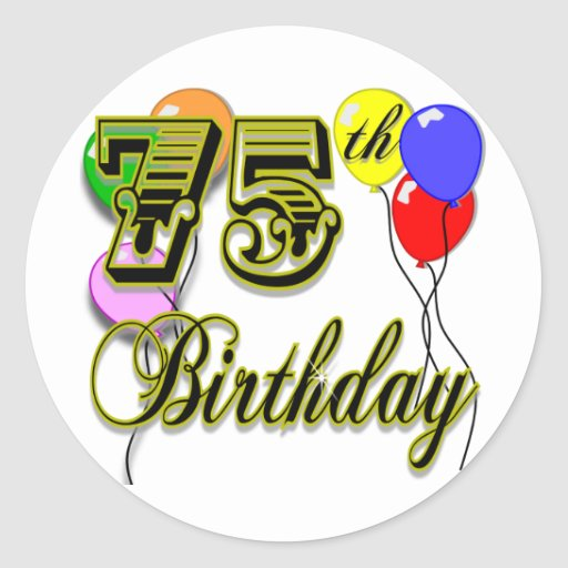 75th Birthday Gifts T Shirts Art Posters Amp Other Gift