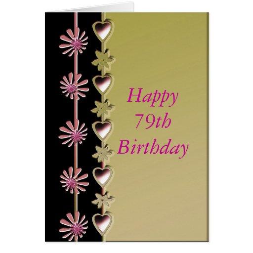 Happy 79th Birthday Card