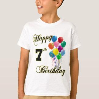 Happy 7th Birthday Shirts and Birthday Apparel