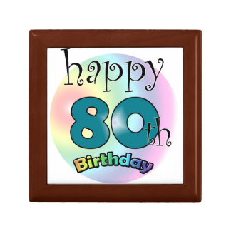 Happy 80th Birthday Gift Box