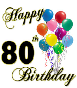 Happy 80th Birthday Gifts And Apparel Trucker Hat
