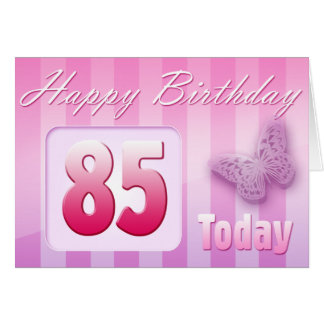 Happy 85th Birthday Grand Mother Great-Aunt Mom Card