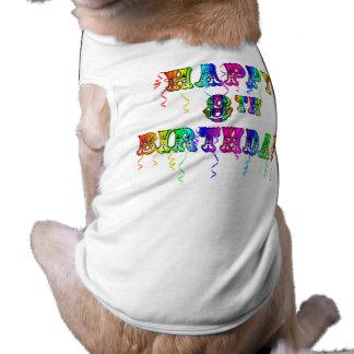 Happy 8th Birthday Shirts, Birthday Mugs and more Tee