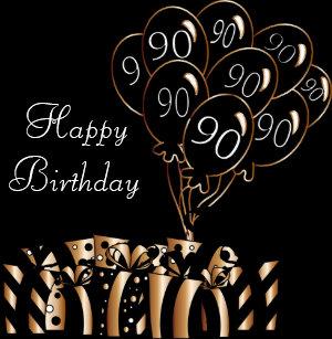 Happy 90th Birthday Stickers Zazzle