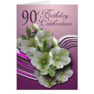 Happy 90th Birthday Greeting Card