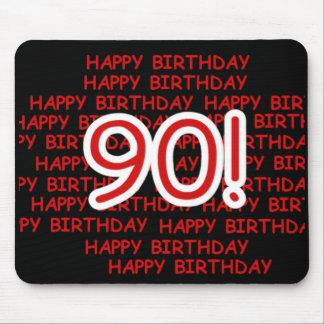 Happy 90th Birthday Mouse Pad
