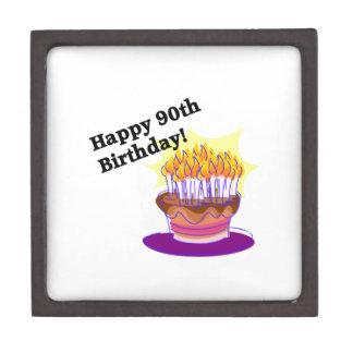 Happy 90th Birthday Premium Gift Box