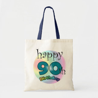 Happy 90th Birthday Tote Bag