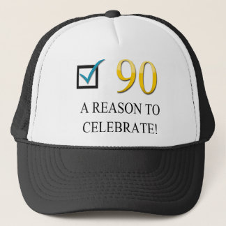 Happy 90th Birthday Trucker Hat