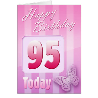 Happy 95th Birthday Grand Mother Great-Aunt Mum Card